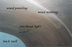 Wood paneling and molding